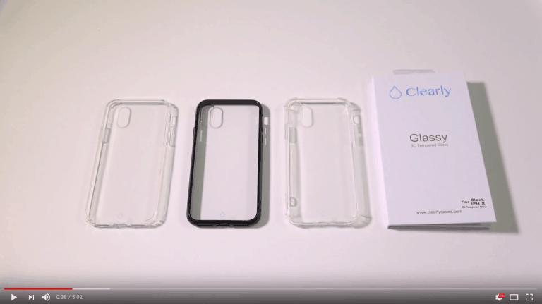 סקירה של ליין הכיסויים והמגנים לאייפון X – rGadgets