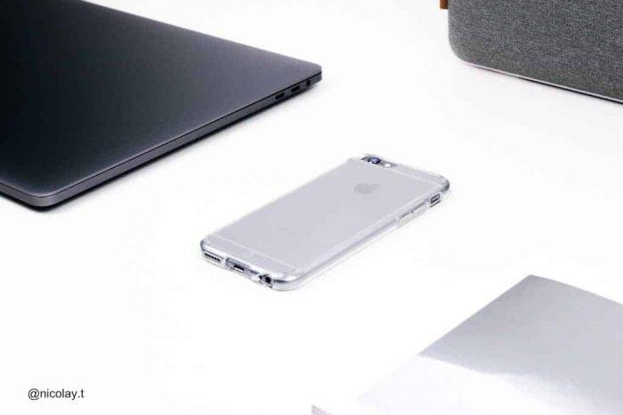 כיסוי שקוף מגן לאייפון 6 אס