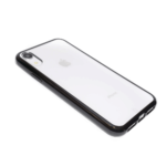 כיסוי מגן לאייפון XR בעל מסגרת שחורה