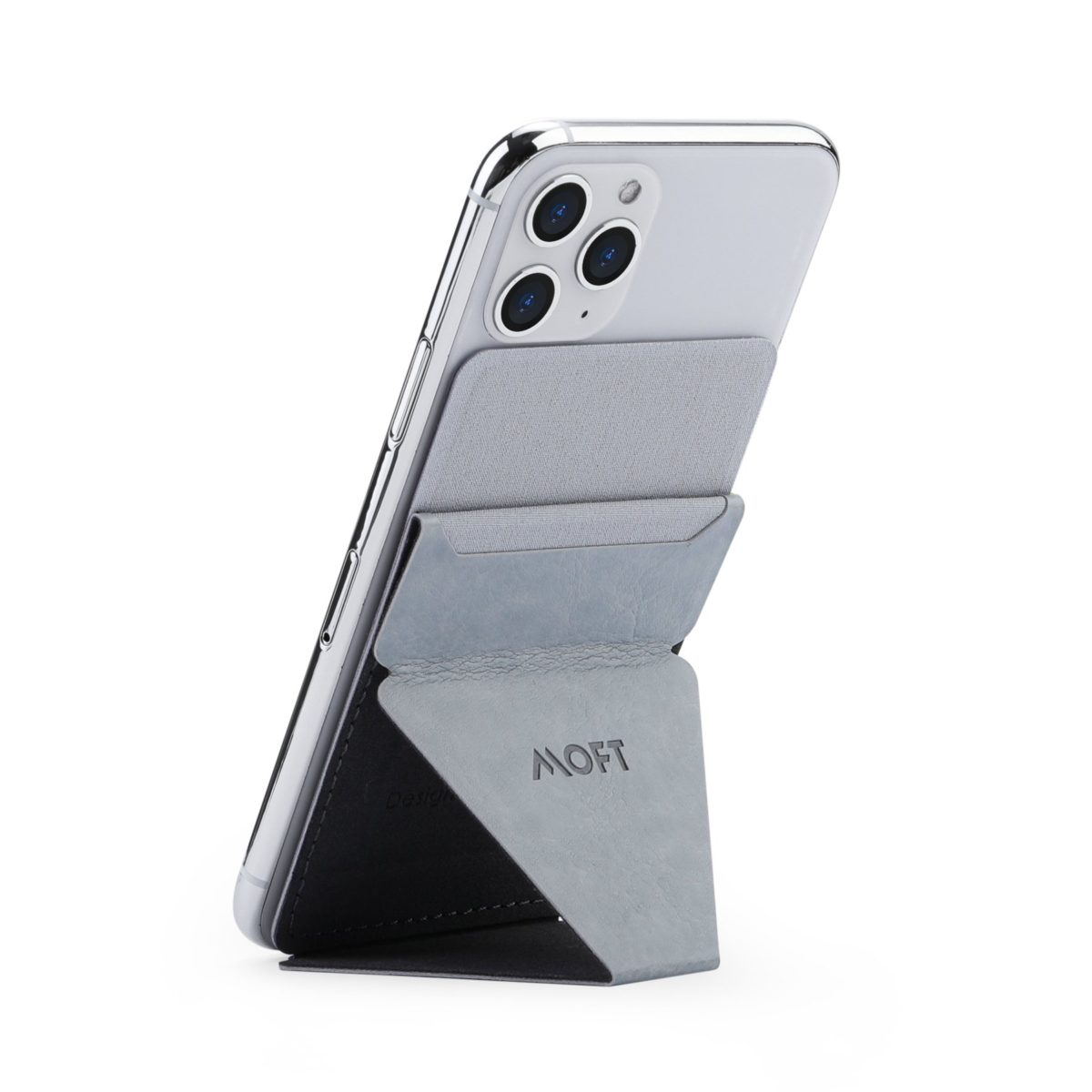 MOFT X Phone Stand אפור בהיר